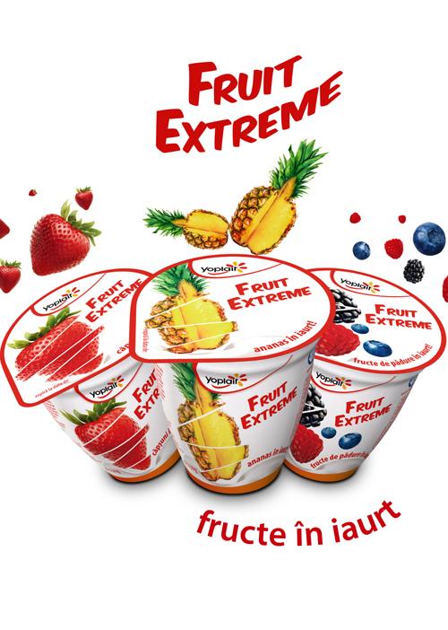 Yoplait – iaurturi cu bucati uriase de fructe