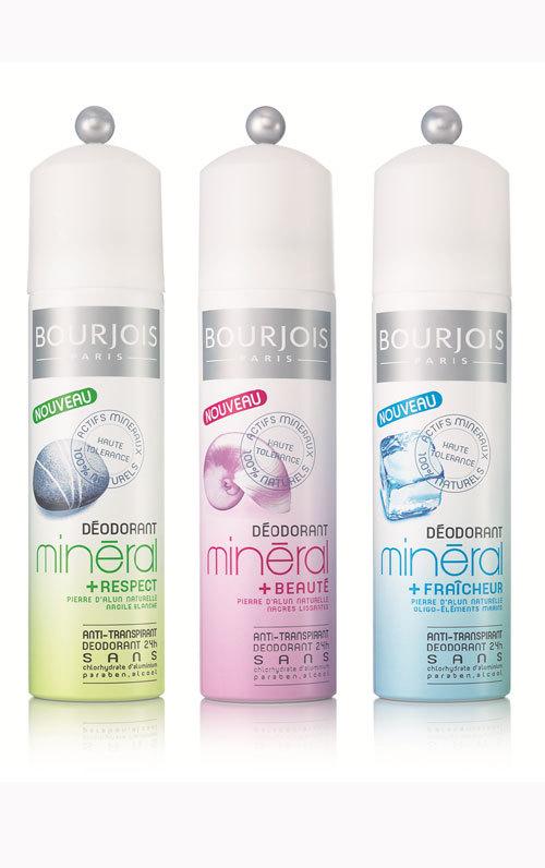 Noua gama de Deodorante Minerale Bourjois