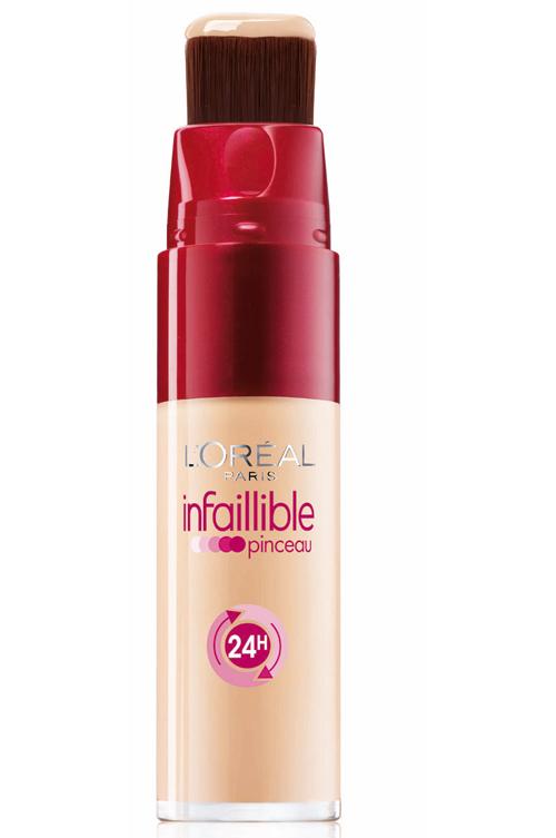 Noul fond de ten Infaillible Brush, de la L'Oréal