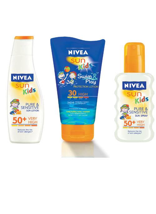 Noile produse pentru protectie solara pentru copii de la NIVEA SUN