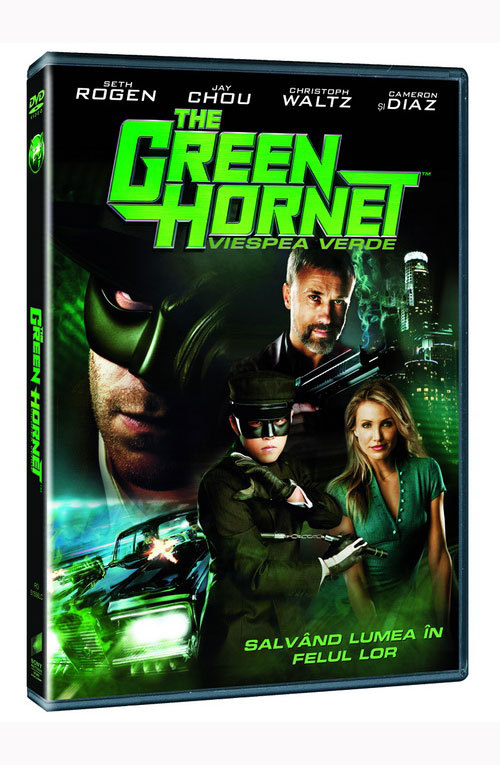 """The Green Hornet"", disponibil pe BLU-RAY si DVD"