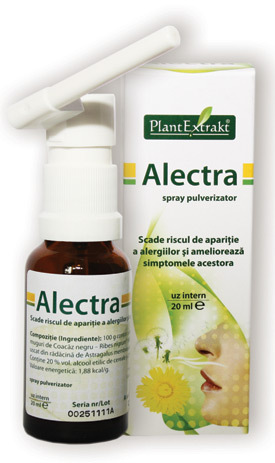 ALECTRA- scade riscul de aparitie a alergiilor si amelioreaza simptomele