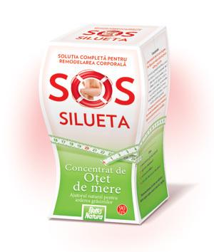 Concentratul de otet de mere SoS Silueta pentru dieta ta