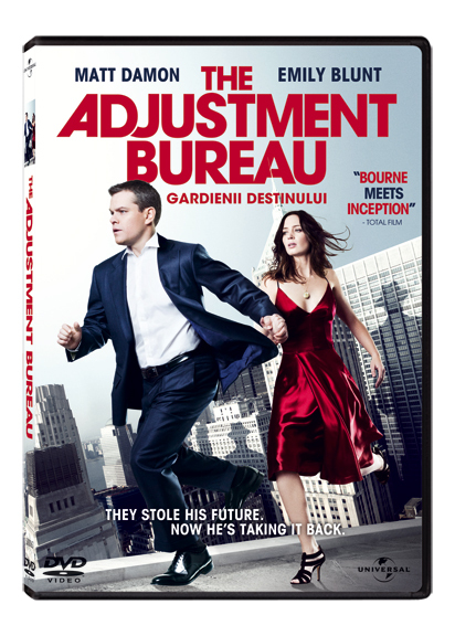 The Adjustment Bureau, acum pe DVD