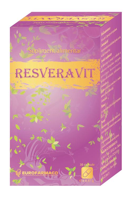 Resveravit – o doza de sanatate si tinerete pentru organismul tau!