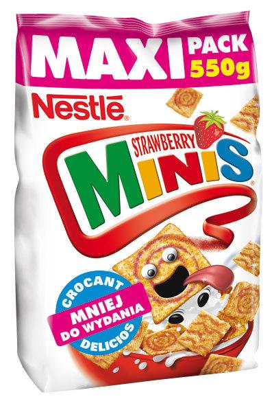 Noul Nestle Strawberry Minis – gust irezistibil de capsuni