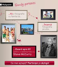 Family Potraits- un proiect Hotpoint in colaborare cu Steve McCurry