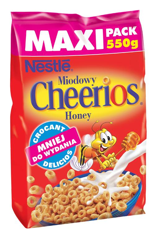 Nestle Honey Cheerios – cereale cu miere delicioasa