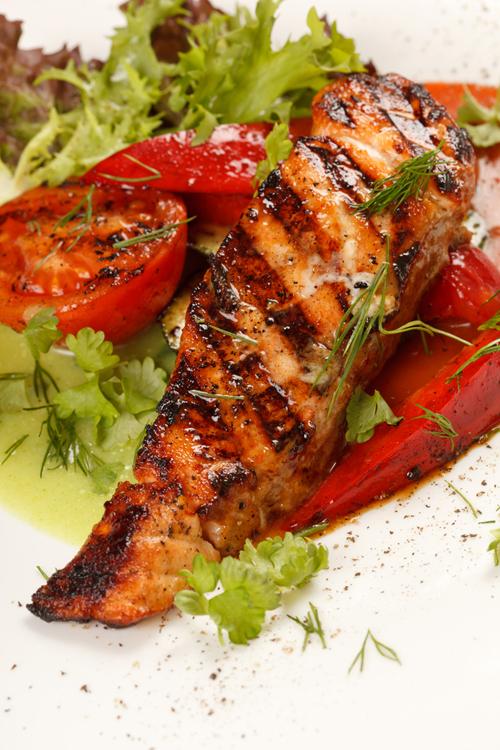 Dieta vegetariana (cu carne pe post de garnitura)