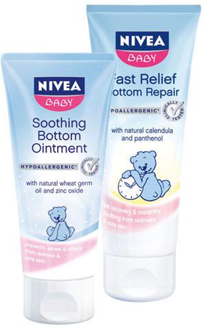 NIVEA Baby pentru ingrijirea delicata a bebelusului