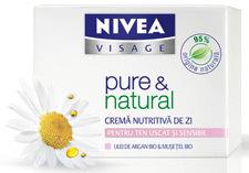 Puterea naturii in gama NIVEA pure & natural
