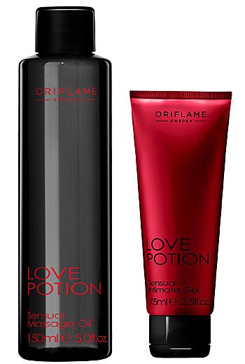Love Potion Sensual – ulei de masaj si gel intim, de la Oriflame