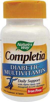 Completia Diabetic, aliatul natural pentru persoanele cu diabet