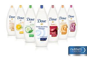Descopera noile geluri de dus hidratante Dove cu Nutrium Moisture
