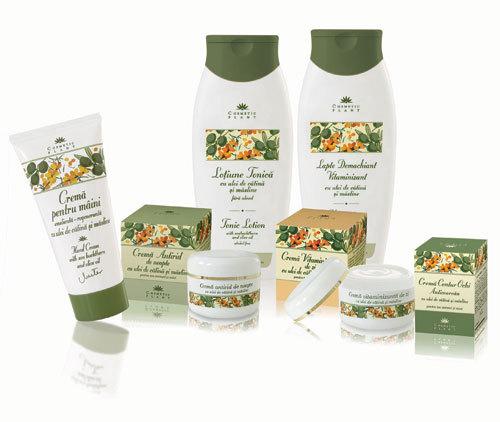 Gama produselor cu ulei de catina si masline de la Cosmetic Plant