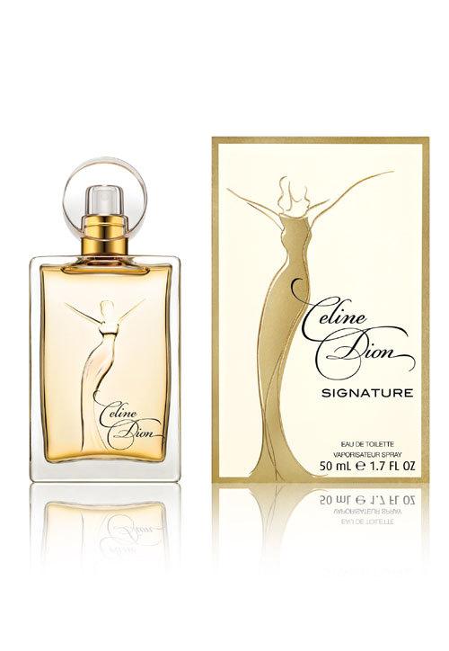 """Celine Dion prezinta noul parfum """"Signature"""""""