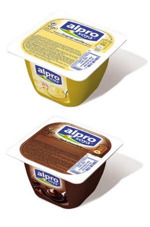 ALPRO SOYA – deserturi delicioase cu vanilie sau ciocolata