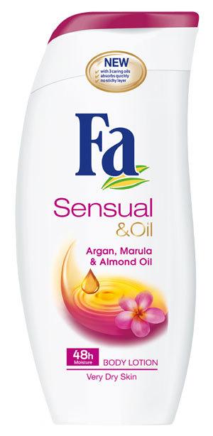 Fa Sensual & Oil pentru o senzatie irezistibila de catifelare