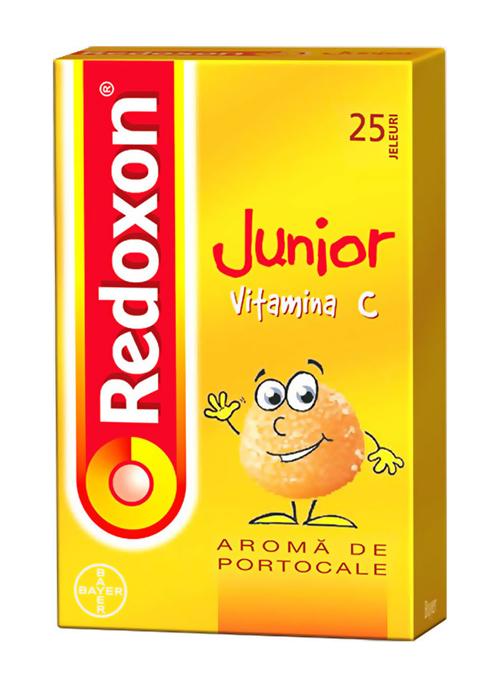 Redoxon Junior de la Bayer, prietenul piticilor si aliatul mamicilor!