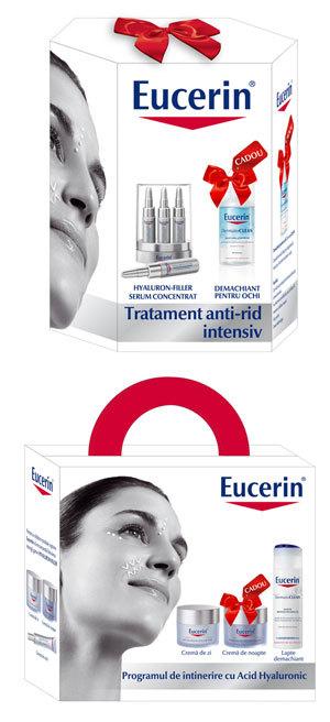 Seturi cadou Eucerin antiageing cu Hyaluron Filler