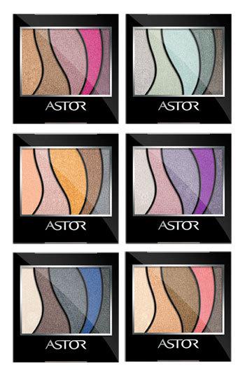 Astor Eye Artist Pallettes – farduri pigmentate prismatice, cu reflexii multiple