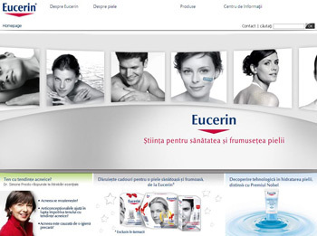 Eucerin lanseaza www.eucerin.ro