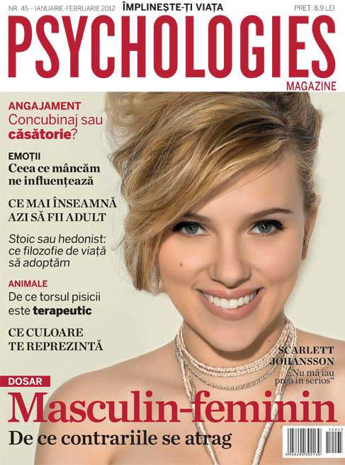 Mihai Albu si Sanda Pralong recomanda revista Psychologies Romania