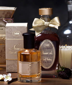 Ulei de dus Fruity Vanilla si Apa de toaleta Noam – noi arome la Sabon