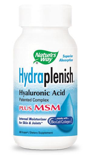 Hydraplenish Plus MSM, pentru sanatatea pielii si a parului