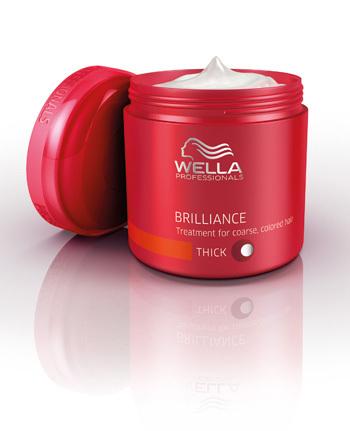 Wella Professionals Care Brilliance Mask – tratament pentru par vopsit