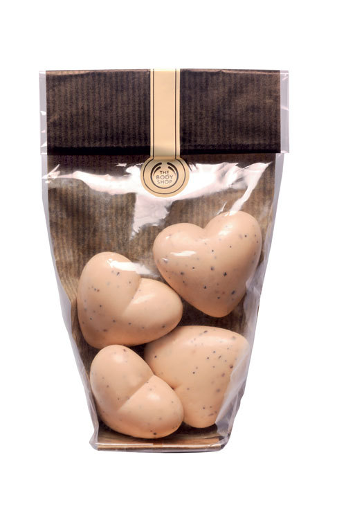 Chocomania Bag of Hearts, de la The Body Shop