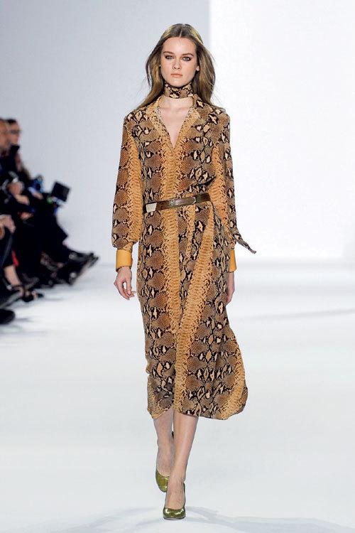 Tendinte moda: Piele exotica