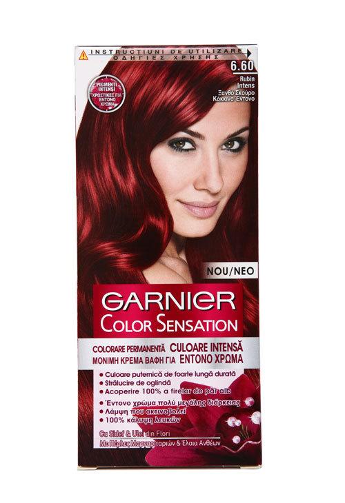 O culoare stralucitoare cu noua vopsea de par Garnier Color Sensation
