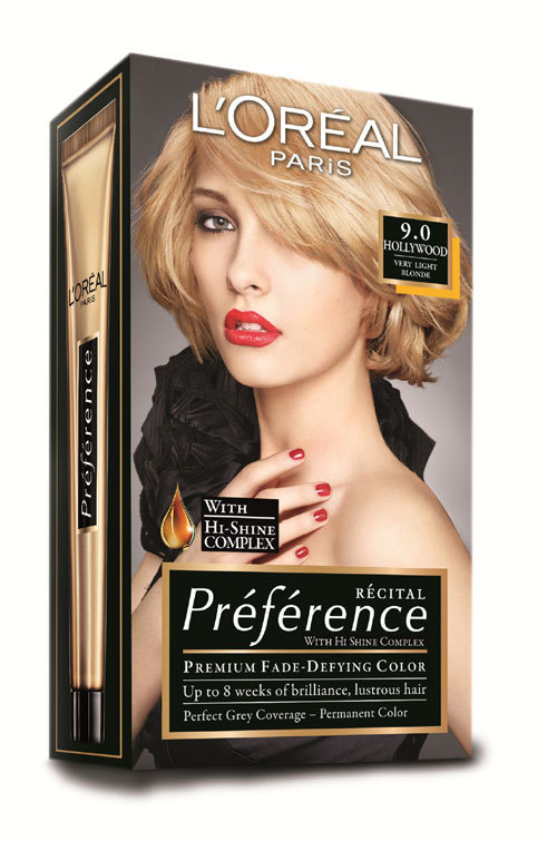Gama de vopsea de par Preference, L'Oreal Paris, pentru culori stralucitoare si de durata