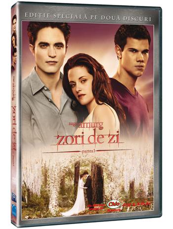 Castiga 3 DVD-uri cu filmul The Twilight Saga: Breaking Dawn-Part 1, oferite de Pro Video!