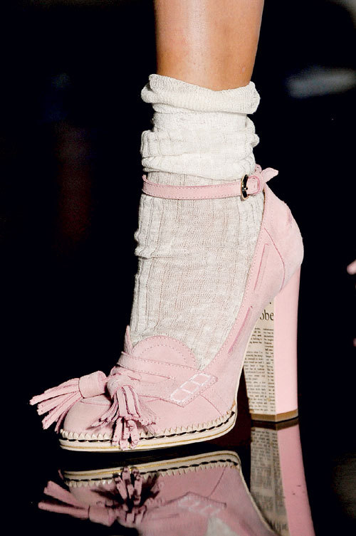 Fashion trends: Sweet shoes