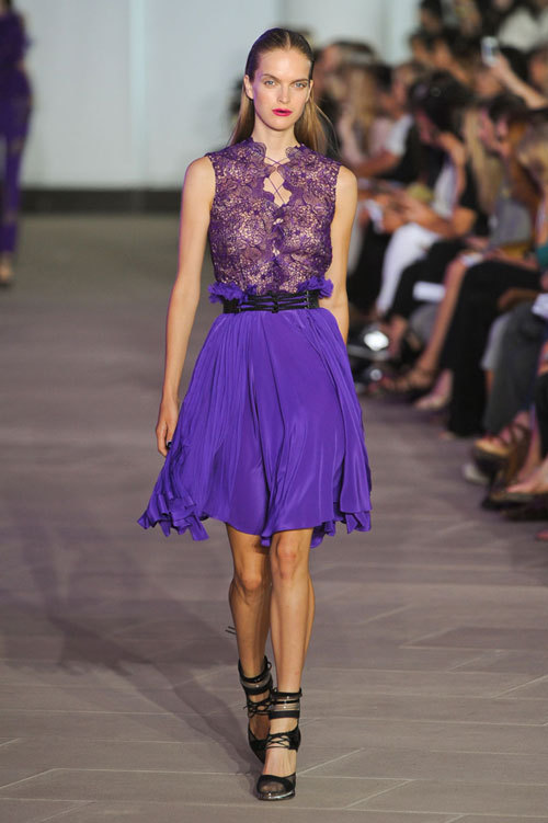 Fashion trends: Purple rain