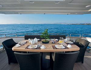 Vacanta la bordul unui yacht