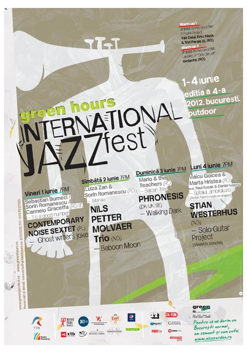 Incepe Green Hours INTERNATIONAL JAZZ Fest