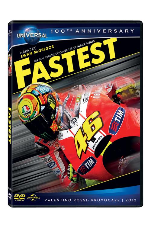 Fastest, un film cu si despre Valentino Rossi, campionul mondial la motociclism
