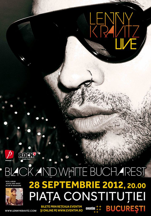LENNY KRAVITZ revine in concert la Bucuresti