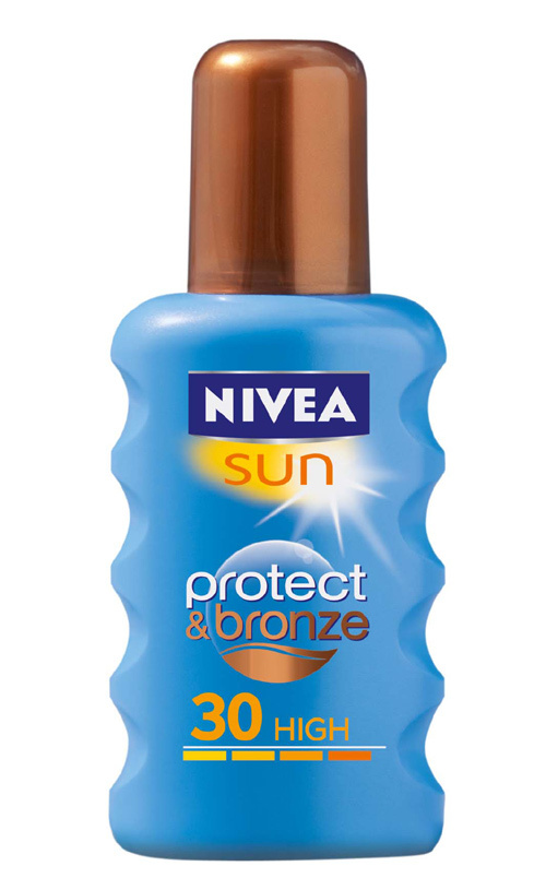 Noile spray-uri NIVEA Sun Protect & Bronze