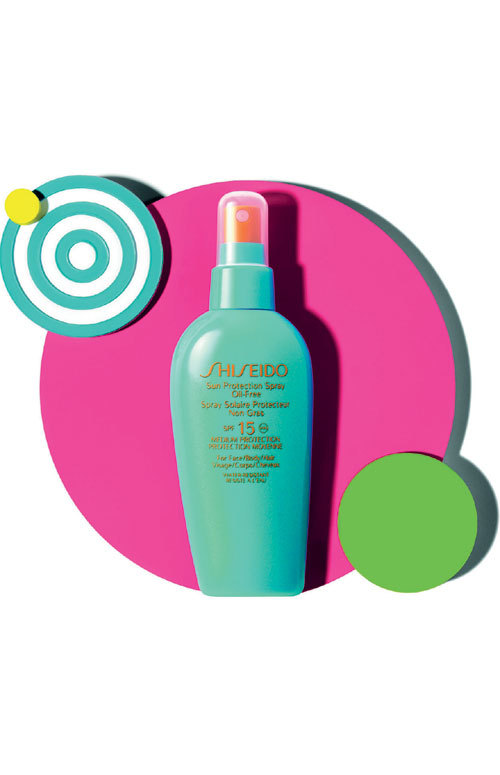 Sun Protection Spray Oil Free, Shiseido