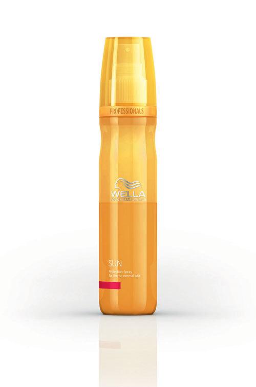Par sanatos cu spray-ul protector Care Sun, Wella Professionals