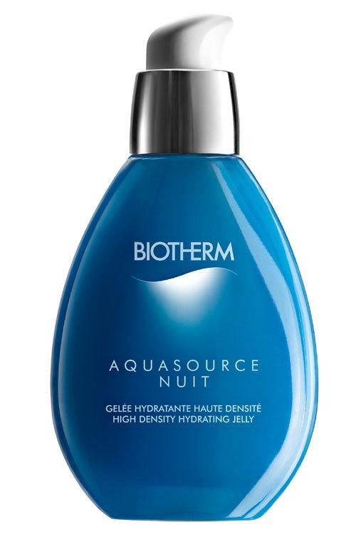 Un ten protejat cu Biotherm Aquasource Night
