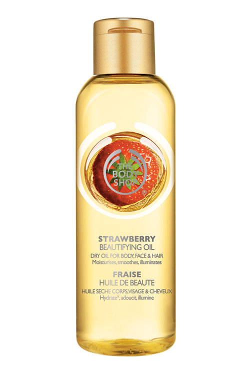 Strawberry Beautifying Oil, The Body Shop