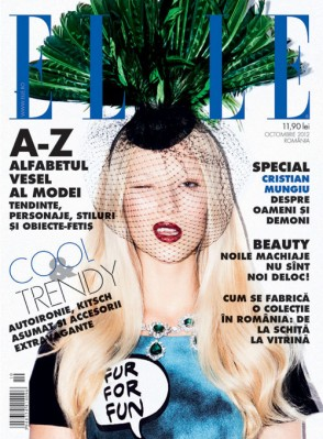 ELLE OCTOMBRIE 2012