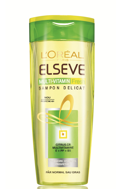 Sampon Multi-Vitamin Fresh Elseve, L'Oreal Paris