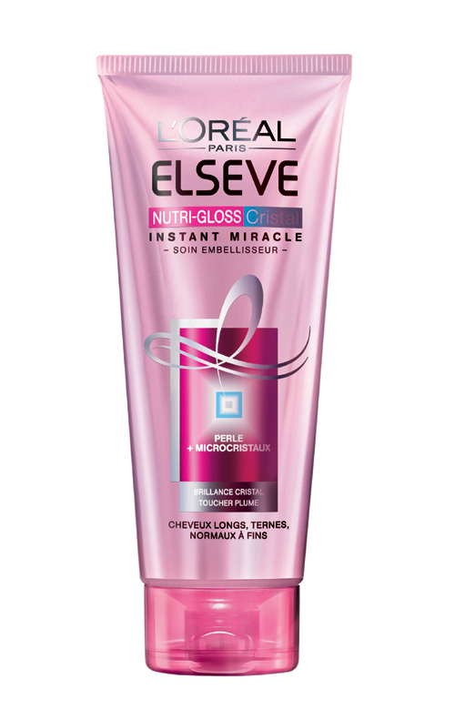 Tratament intensiv Elseve Nutrigloss Crystal, L'Oreal Paris