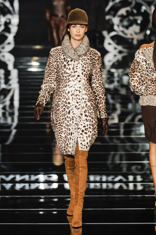 Tendinte moda toamna 2012: animal print